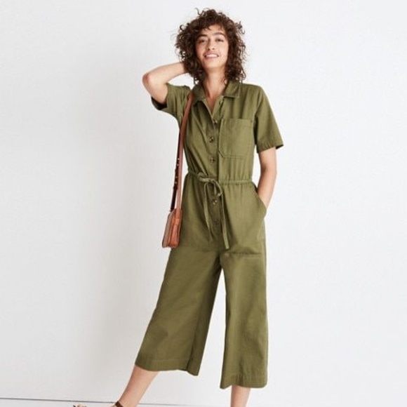 900c778d2f RESERVED  Madewell Wide-Leg Utility Jumpsuit